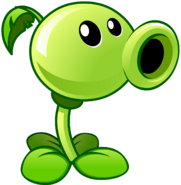 Plants vs zombies 2 peashooter by illustation16-d7hbxjg