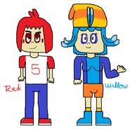 Proyecto Humano - Red y Willow de Angry Birds