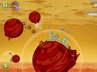 Red Planet 5-7 (Angry Birds Space)