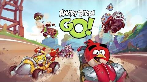 Fiona of Amber/Трейлер геймплея Angry Birds Go!