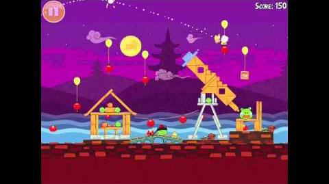 "Angry Birds Seasons Mooncake Festival Golden Egg 23 Walkthrough ""Big Mooncake"""