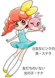 Angry Birds Stella - Promo del Manga