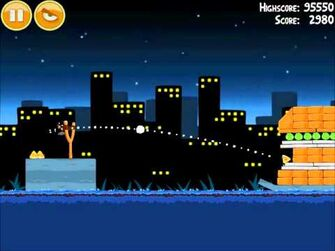 Official Angry Birds Walkthrough Danger Above 7-7