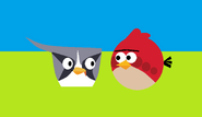 Red y Silver (Angry Birds)