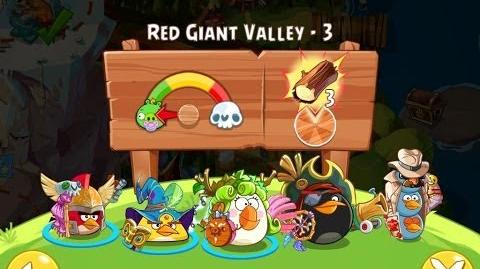 Angry Birds Epic Red Giant Valley Level 3 Walkthrough