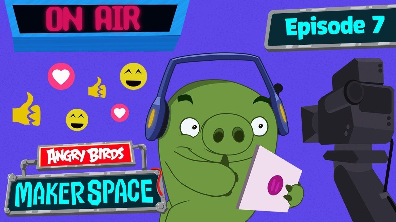 Angry Birds MakerSpace Livestream Shutdown