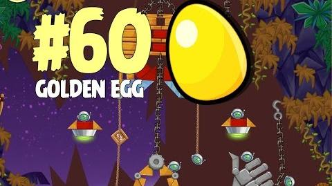 Angry Birds Seasons Tropigal Paradise Golden Egg 60 Walkthrough