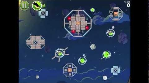 Angry Birds Space Pig Bang 1-17 Walkthrough 3-star