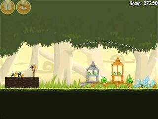 Official Angry Birds Walkthrough Danger Above 6-12