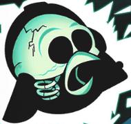 Скелет Дарта Вейдера