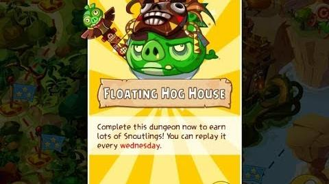 Angry Birds Epic Floating Hoghouse Dungeon Walkthrough