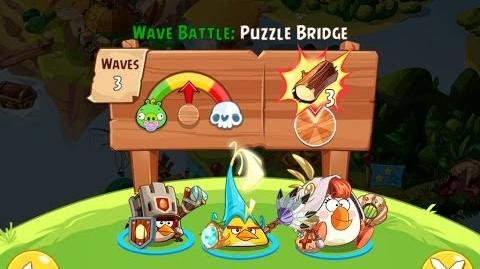 Angry Birds Epic Puzzle Bridge Walkthrough
