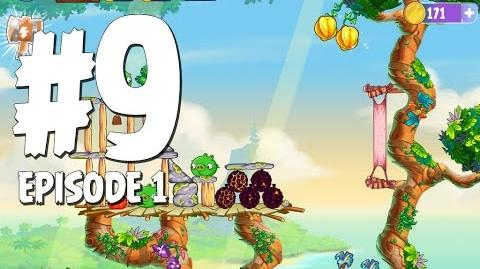 Angry Birds Stella Level 9 Walkthrough Branch Out Episode 1