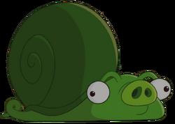 Свинья-улитка