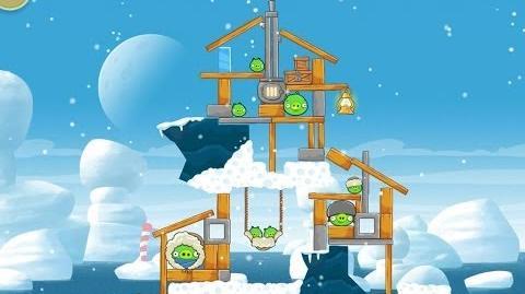 Angry Birds Seasons Arctic Eggspedition 1-10 Walkthrough 3 Star
