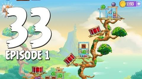 Angry Birds Stella Level 33 Walkthrough Branch Out Episode 1