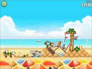 Official Angry Birds Rio Walkthrough Beach Volley 5-7