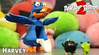 Angry Birds Harvey Construction Set - The Angry Birds Movie 2 Toys Unboxing