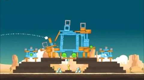 Official Angry Birds Walkthrough Ham 'Em High 12-12
