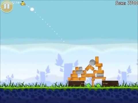 Official Angry Birds Walkthrough Poached Eggs 1-20
