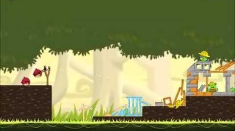 Official Angry Birds Walkthrough The Big Setup 11-5