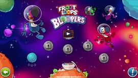 Floop Loops Bloopers выбор уровня