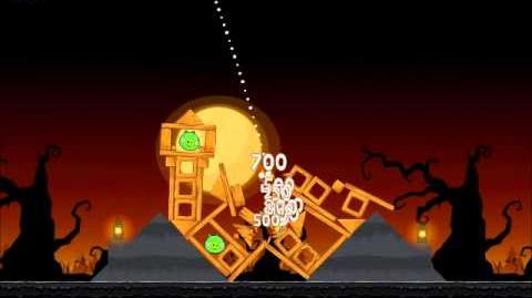 Official Angry Birds Seasons Walkthrough Trick or Treat 3-10