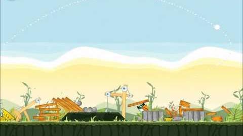 Official Angry Birds Walkthrough The Big Setup 9-11