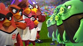 Angry Birds Goal (Teams)