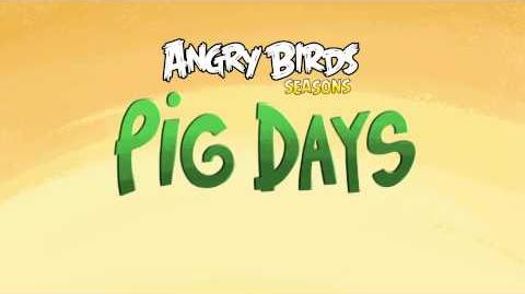 Angry Birds Seasons Pig Days Weekly Levels!