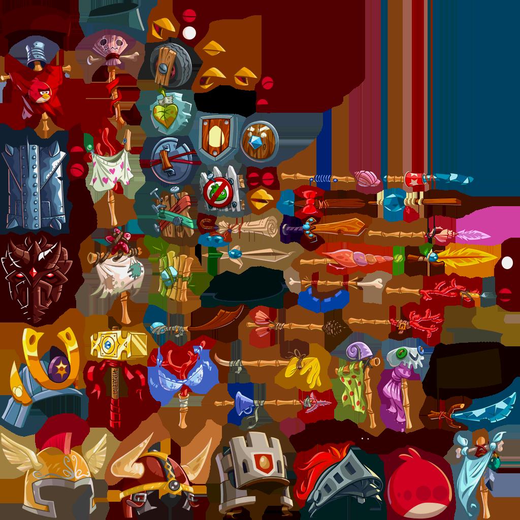 User Blog Aquachoco1997 Angry Birds Epic In Game Sprites