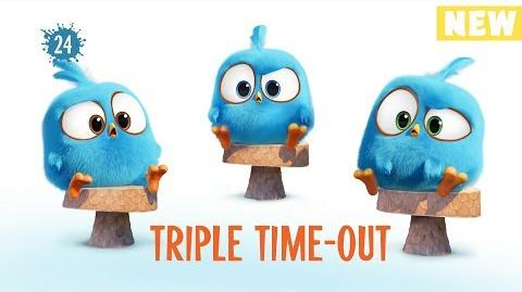 Angry Birds Blues Triple Time Out - S1 Ep24 NEW