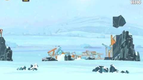 Hoth 3-3 (Angry Birds Star Wars)/Video Walkthrough