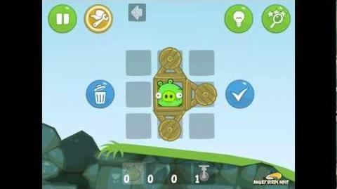 Bad Piggies Ground Hog Day 1-8 Walkthrough 3 Star