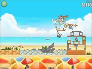 Official Angry Birds Rio Walkthrough Beach Volley 6-1