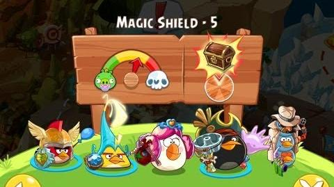 Angry Birds Epic Magic Shield Level 5 Walkthrough