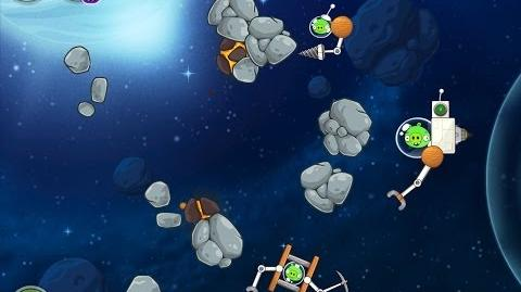 Angry Birds Space Beak Impact 8-9 Walkthrough 3 Star