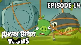 Angry Birds Toons Dopeys On A Rope - S1 Ep14