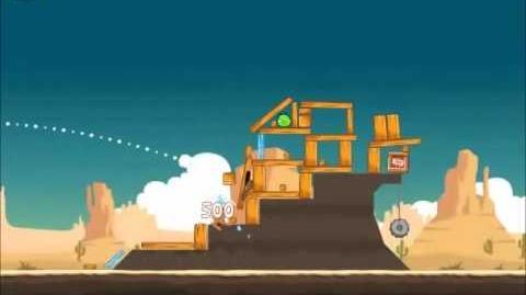 Official Angry Birds Walkthrough Ham 'Em High 12-8