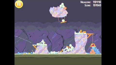 Angry Birds 17-6 Mine & Dine 3 Star Walkthrough