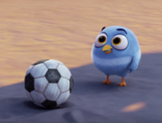 Angry Birds Movie - маленький футболист