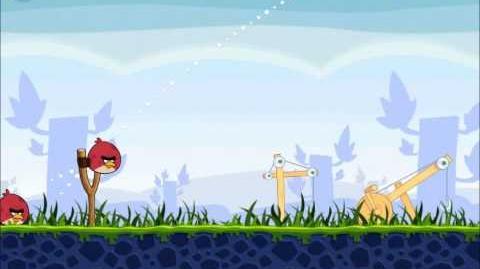 Official Angry Birds Walkthrough The Big Setup 9-6