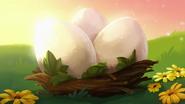 Яйца в Toons