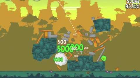 Angry Birds 23-3 Bad Piggies 3 Star Walkthrough (Angry Birds Classic 23-3)