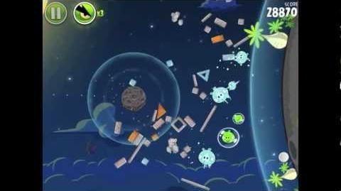 Angry Birds Space Pig Bang 1-16 Walkthrough 3-star