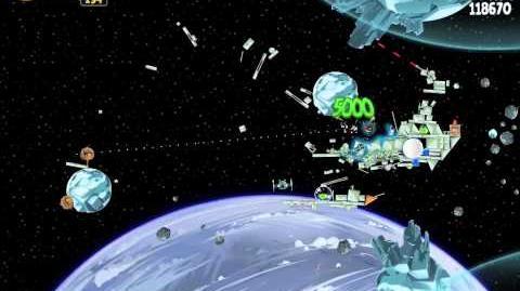 Angry Birds Star Wars 3-20 Hoth 3-Star Walkthrough