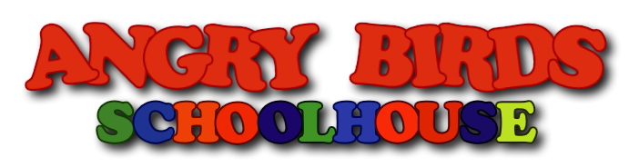 Angry Birds Shoolhouce Logo