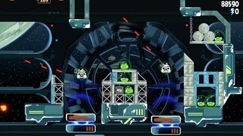 Death Star 2 6-19 (Angry Birds Star Wars)/Video Walkthrough