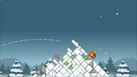 Official Angry Birds Seasons Walkthrough Season's Greedings 1-1