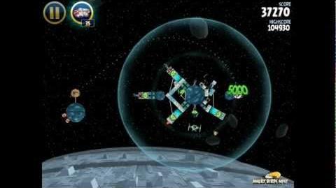 Death Star 2-35 (Angry Birds Star Wars)/Video Walkthrough